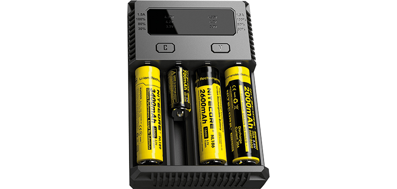 NEW Intellicharger 4 batteries