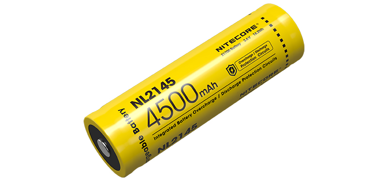 Batterie Rechargeable 21700 Li-ion Battery,  Capacity: 4500mAh - P12 New