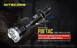 Precise 16 Tactical - 1000 Lm - Lg : 151mm - Dia-tête : 40mm