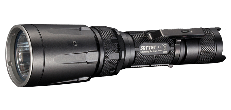 SmartRing Tactical 7GT - 1000Lm - Lg : 158mm - Dia-tête : 40mm